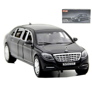 Mercedes-Maybach-S600-Limousine-1-24-Scale-Car-Model-Diecast-Gift-Toy-Vehicle