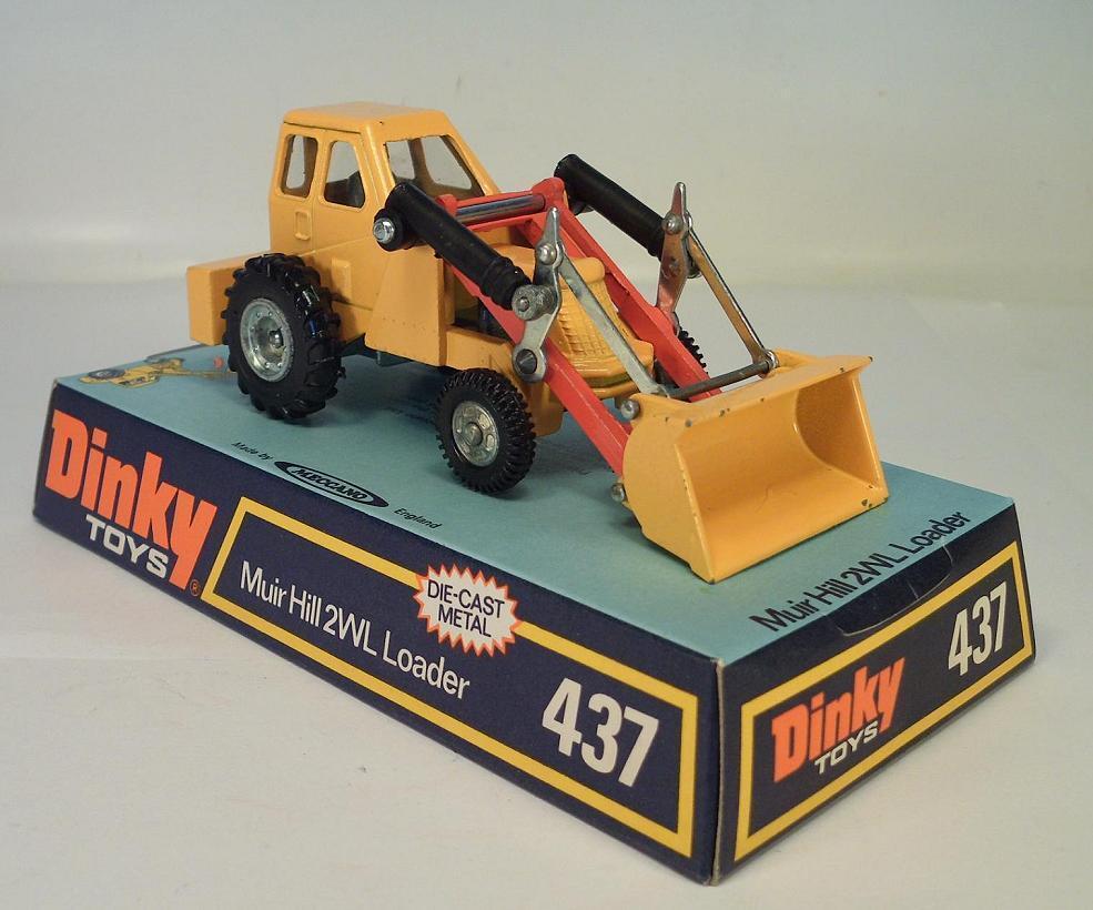 Dinky Toys 437 Muir Hill 2WL Loader OVP
