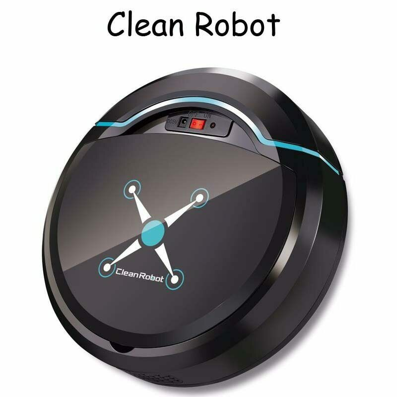 Rechargeable Auto Nettoyage Robot Intelligent Balayage Robot Étage Dirt