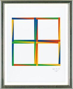 Max-Bill-1908-1994-Quadrate-1971-signiert-datiert-gerahmt