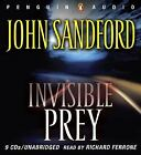 Invisible Prey by John Sandford (2007, CD, Unabridged)