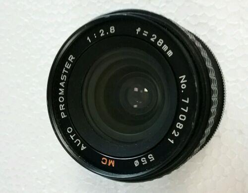 Promaster mc 28mm f/2.8 nikon