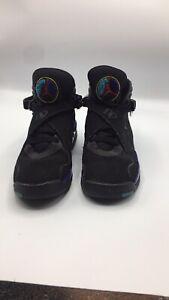Aqua 8 Jordan Kids Size 4   eBay