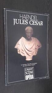 Revista Bi-Bono Opera Händel Jules CESAR Abril 1987 N º 97 Buen Estado