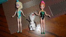 Elsa and Olaf Doll Set Disney Frozen Glitter Glider Anna