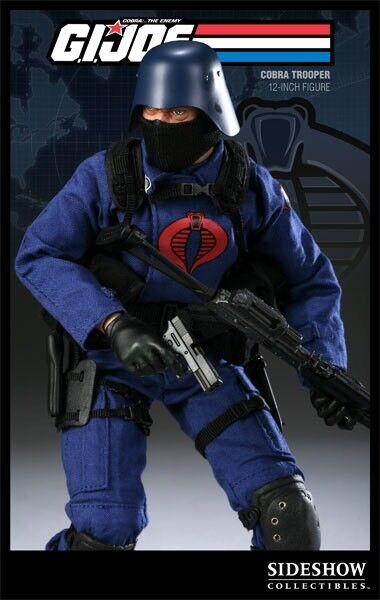 SIDESHOW COLLECTABLES G.I.  JOE Cobra Trooper The Enemy Infantry Builder V1  limite acheter