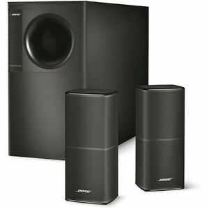 Bose-Acoustimass-5-Series-V-Speakers-Black-Stereo-with-Passive-Subwoofer