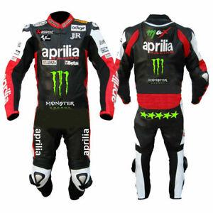 Aprilia Combinaison De Moto En Cuir Armure Motorcycle Leather Suit Eu 46-60 57vtxgkx-07222831-264268276