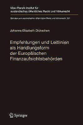 Empfehlungen Und Leitlinien ALS Handlungsform Der Europaischen...