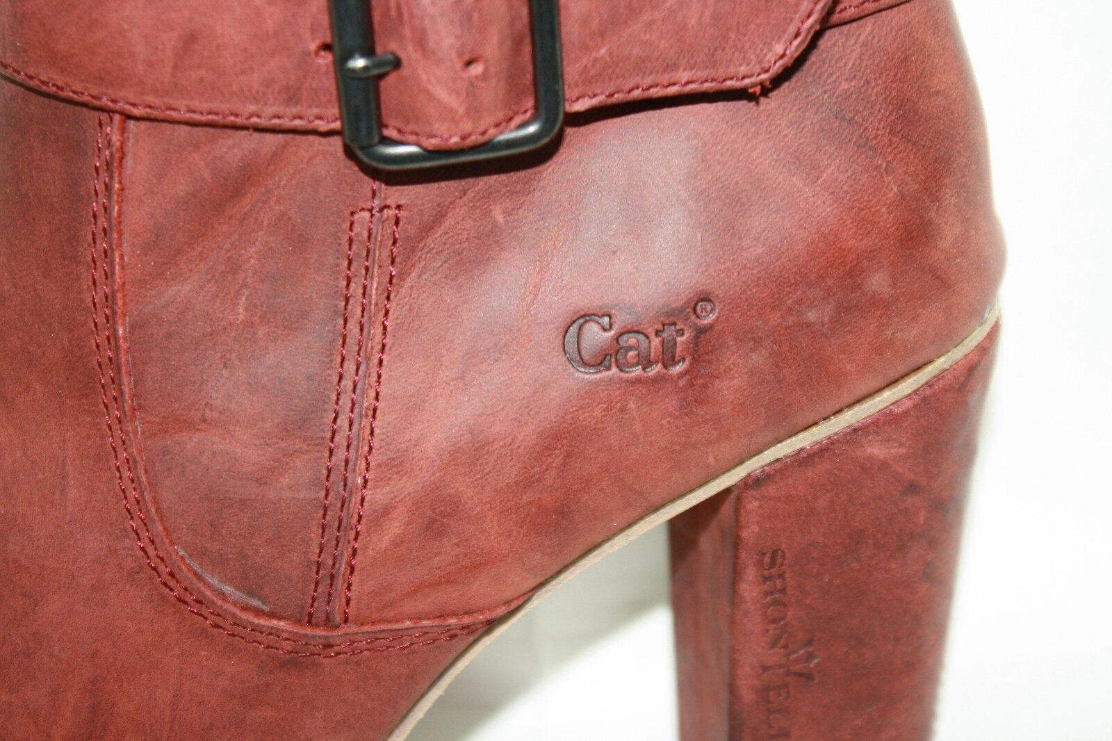 NEW Damenschuhe CATERPILLAR CAT Sandy Lane Lake Rose Stiefel 15