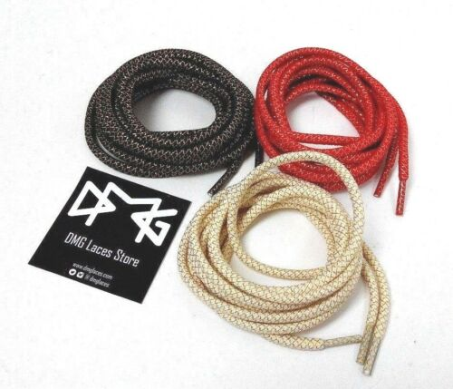 Gold Thread Rope Laces for Asics GEL Air Jordan saucony Kith Bait Air Max Yeezy
