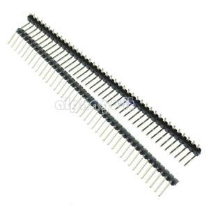 10Pcs-40-Pin-2-54mm-Right-Angle-Single-Row-Pin-Header-PCB-For-Arduino