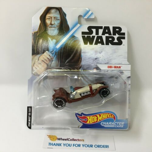 Obi-Wan New 2019 Hot Wheels Character Cars Case G STAR WARS