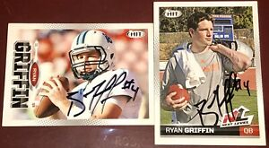 Ryan Griffin Tampa Bay Buccaneers NFL auto autograph football ROOKIE card LOT RC