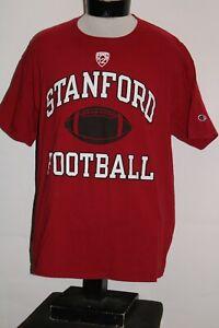 STANFORD-Football-Mens-XL-X-Large-Champion-T-shirt-Combine-ship-Discount