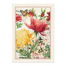 Michel Design Works Cotton Kitchen Tea Towel Morning Blossoms -