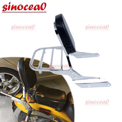 Passenger Backrest Sissy Bar for Honda Magna VF250 1995-2007 VF750 1994-2003