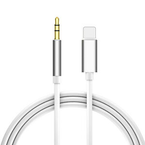 sale retailer deb31 16a02 Details about Car Aux Audio Cable Aux Cord Lighting to 3.5mm Male Jack for  iPhone XS/7/8 iPad