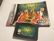 NINTENDO GAME BOY GAMEBOY ADVANCE GBA SP MICRO GAME +INSTRUCTION SCOOBY DOO