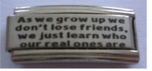 9mm-Classic-Size-Italian-Charm-L67-Real-Best-Friends-As-we-grow-up-we-don-039-t