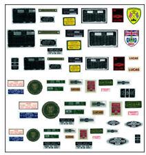 NUOVO set di decalcomanie per scala 1/8 DeAgostini e Tipo Jaguar Mondadori