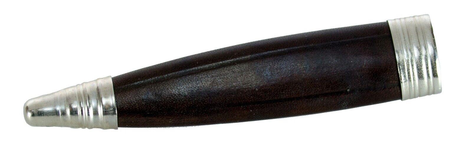 Trachtenmesser Hirschhorngriff  Ätzung Ätzung Ätzung 2 Gemse + Enzian + Zierkappe GEMSE 19658a