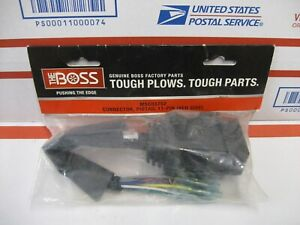 details about boss snow plow oem genuine vehicle side 11 pin repair wire harness msc03752boss snow plow lights wiring harness