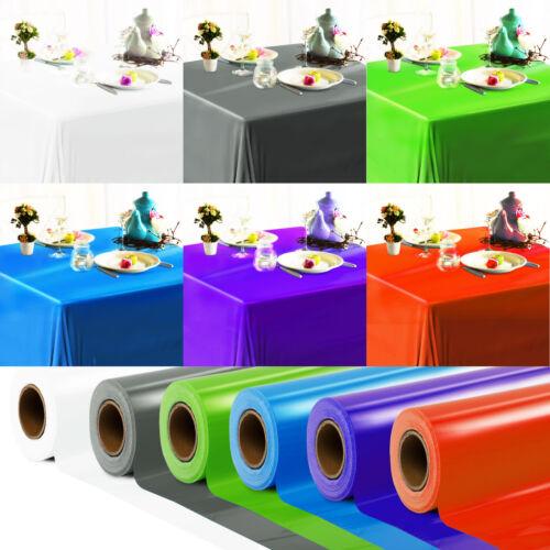 Wachstuch Tischdecke Wachstischtuch Wachstischdecke abwischbar modern einfarbig