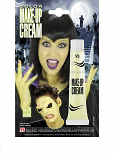 Belle Nouveau Halloween Crème Make Up Tube Glow In The Dark Party Crème Robe Fantaisie-afficher Le Titre D'origine