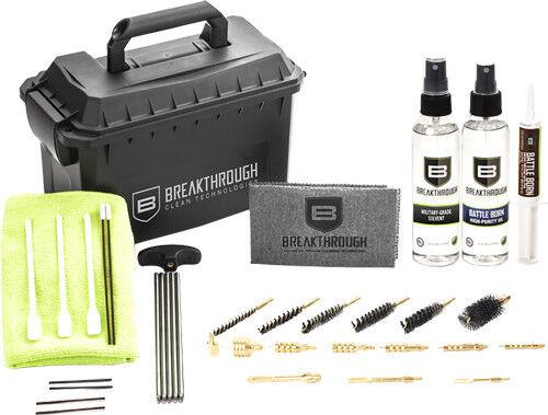 nuevo  Kit de limpieza de avance munición puede Varilla Cable .22-12GA btaccu