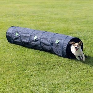 Dog-Pet-Agility-Tunnel-Exercise-Equipment-Training-Tool-2-mtr-x-40cm-Colour