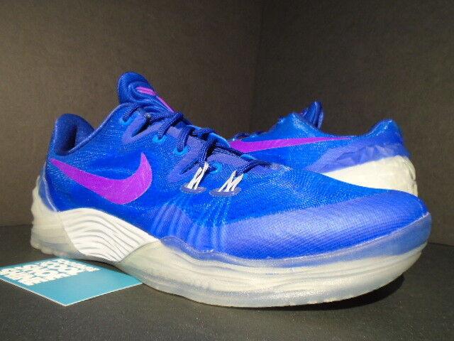NIKE ZOOM KOBE VENOMENON V 5 SOAR ROYAL Bleu PURPLE WOLF GREY 749884-454 DS 10.5 Chaussures de sport pour hommes et femmes