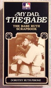My-Dad-The-Babe-Prev-Viewed-VHS-Babe-Ruth-Scrapbook-by-His-Daughter-RARE