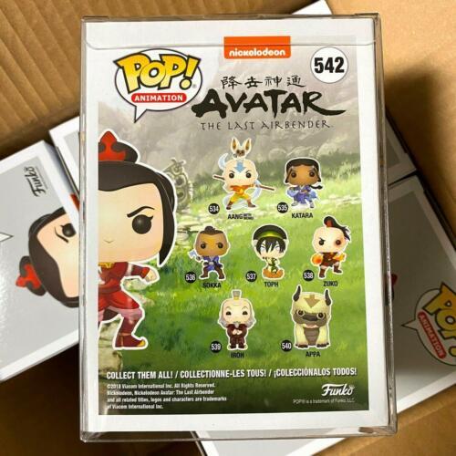 "Funko Pop Avatar AZULA #542 Vinyl Figure Special Edition Exclusive /""Mint Box/"""