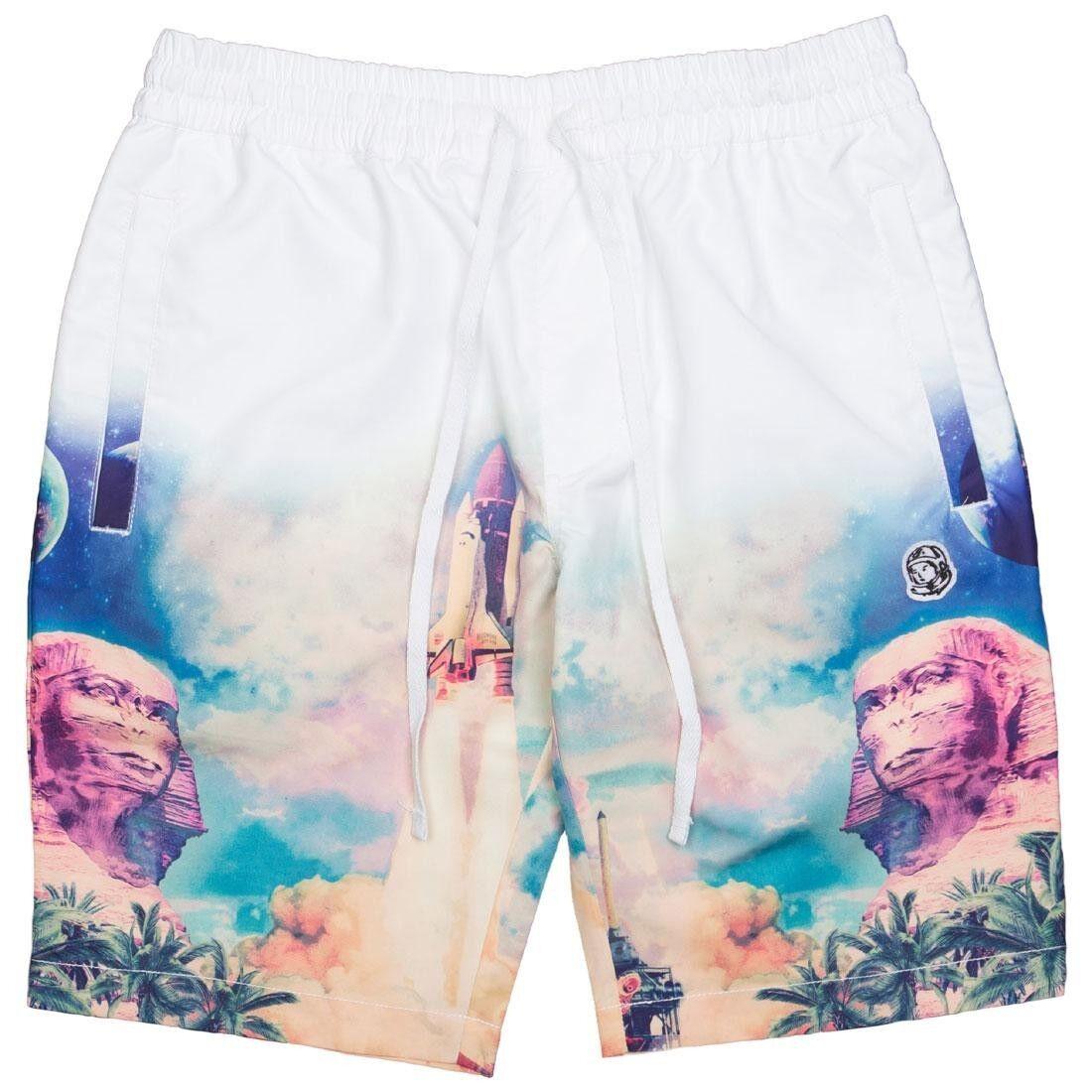 Billionaire Boys Club Men Mirage Shorts Weiß bleach