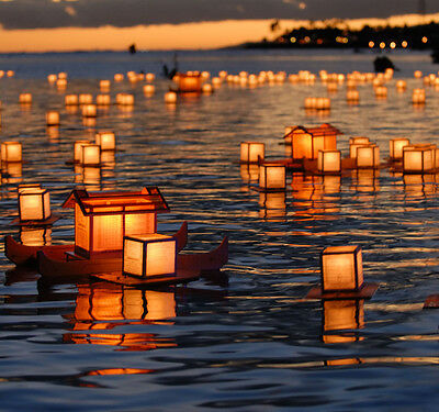 Floating Water Tealights Wedding Birthday Party Decorations Chinese Lanterns
