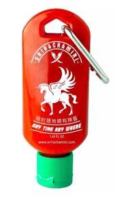 Sriracha-Mini-Refillable-Hot-Sauce-Keychain-Bottle-1-7oz-Shipped-Empty