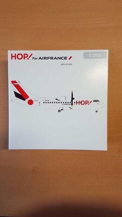 Herpa 559409 - 1 200 Hop  for Air France atr-42-500 - Neuf