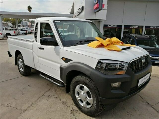 2019 Mahindra Pik up 2.2 Crde Mhawk S/cab 4x2 S4, White with 100km available now!