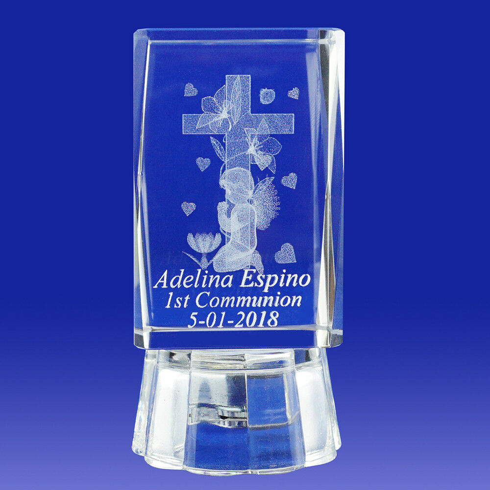 First Communion (12pcs) Primera comunión personalized engraved Confirmation 055L
