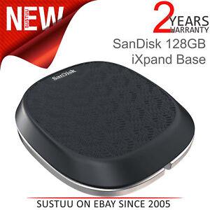 Sandisk-128GB-Ixpand-Base-para-Iphone-Ipad-Cargador-amp-Automatico-Backup