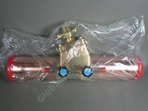 NOS-Carten-UHP-Ultra-High-Purity-4-1-4-034-Butt-Weld-Copper-Tube-Valve-300014-57