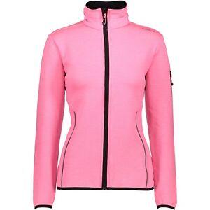 CMP Softshell chaqueta de transición chaqueta función Pink patrón Stretch