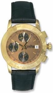 Condor-Automatique-Chronographe-Tachymetre-Scale-18k-Or-Montre-Homme-Date
