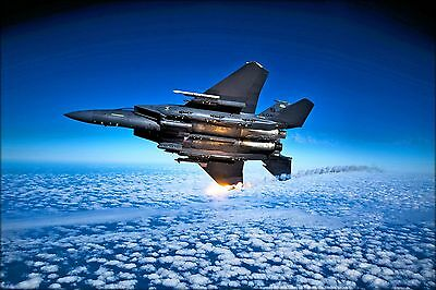 Poster, Many Sizes; F-15 Eagle 335Th Fighter Squadron - F-15E Eagle