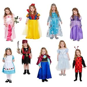 Filles-Toddler-Costume-Fancy-Dress-Outfit-Dressing-Up-Party-World-Book-Day-NEUF