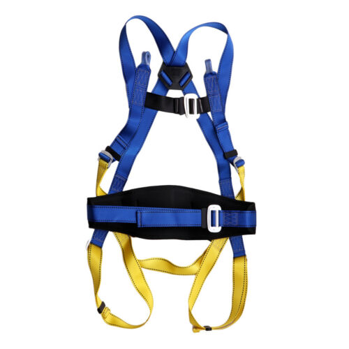 Fall Protect Safety Harness Climbing Body Protection Belt Hiking Descending
