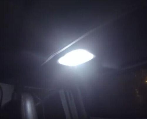 5 x Xenon White LED Lights Interior Package Kit For 2000-2006 Jeep Wrangler TJ