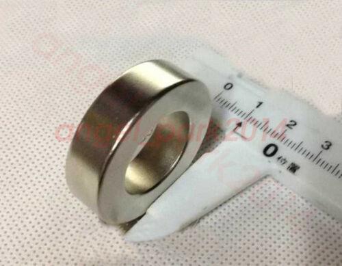 1-20pcs D35 x10mm Hole:20mm Ring Powerful Disc Rare Earth Neodymium Magnet N50