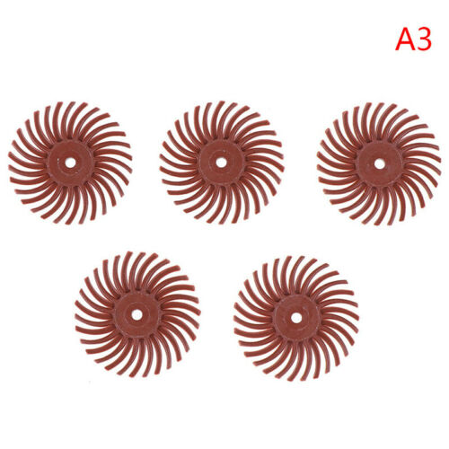 5Pcs  Accessories Abrasive Brush Radial Bristle Polishing Buffing WheTS